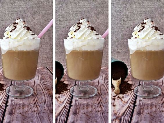 Jegeskávé egyszerűen. #kávé #jegeskávé #recept