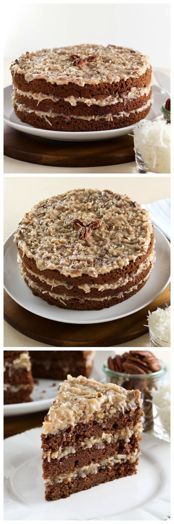 German Chocolate Cake | Recipe | Chocolate cakes, Wanderlust and Cakes