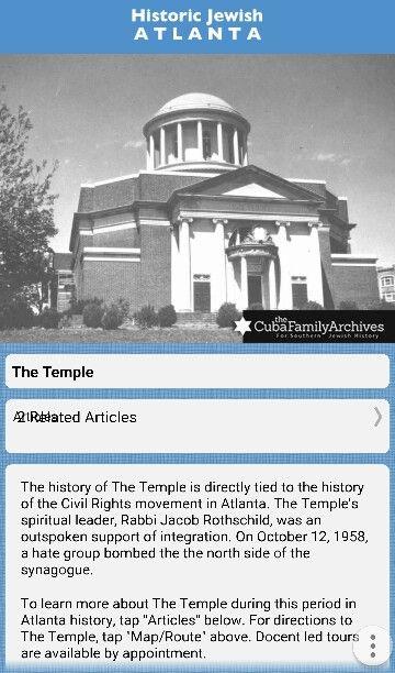 Atlanta. Georgia. Temple.