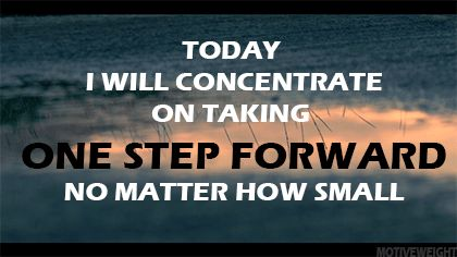 Image result for do take small steps towards your goal gif