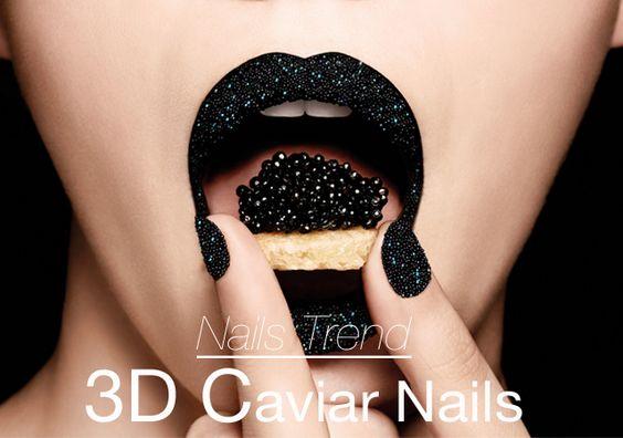 Trendy Nails - 3D Caviar Nails