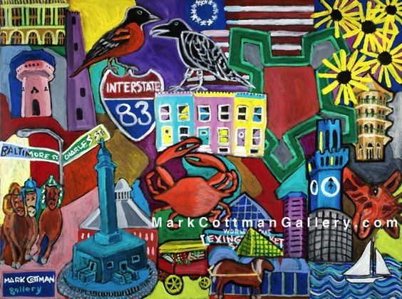 """""""This is Baltimore"""" at the Mark Cottman Gallery"""
