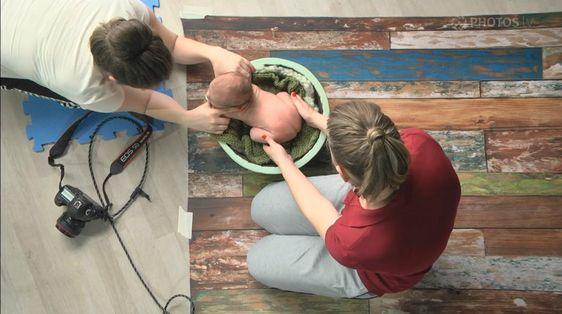Fotografia Newborn - Dicas para poses e acalmar o bebê