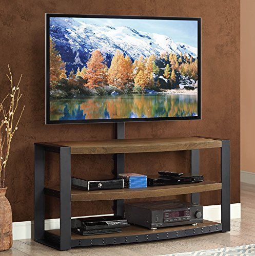 The Santa Fe 3 In 1 Flat Panel Tv Console Is A Smart Combination