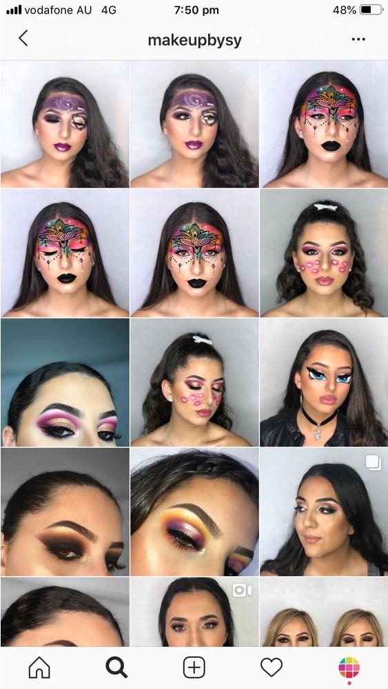 Best Instagram Feed Ideas For Makeup Artists Best Instagram Feeds Instagram Feed Instagram Feed Ideas