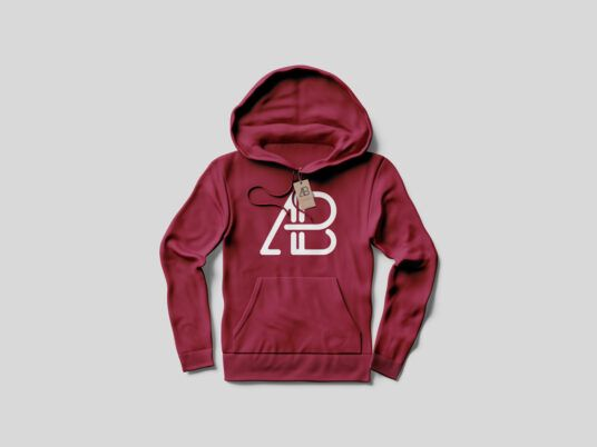 Download Red Hoodie Mockup Front And Back Di 2020