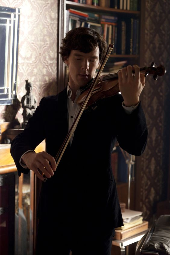 Sherlock how do you manage to look ethereal all the time?!