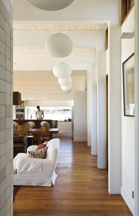 creative lighting and balance in each room