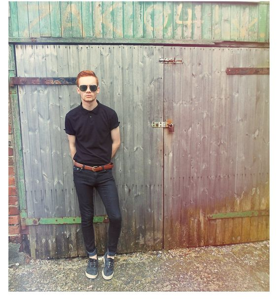 black polo black skinny jeans - Google Search