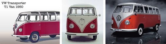 VW Volkswagen Transporter Type1 1950