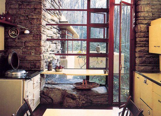 Prime Big House Tour Fallingwater Kitchen Fallingwater Pinterest Largest Home Design Picture Inspirations Pitcheantrous