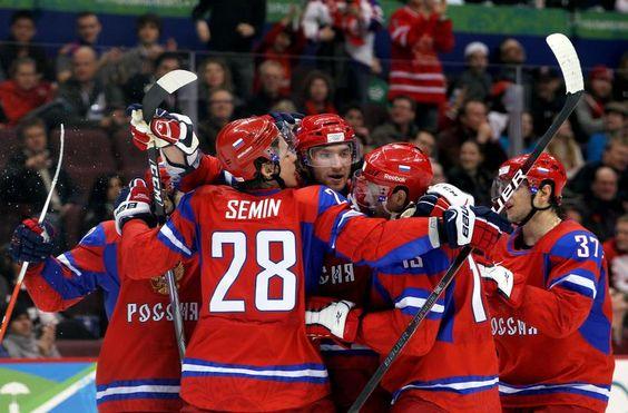 RUSSIA VS. LATVIA