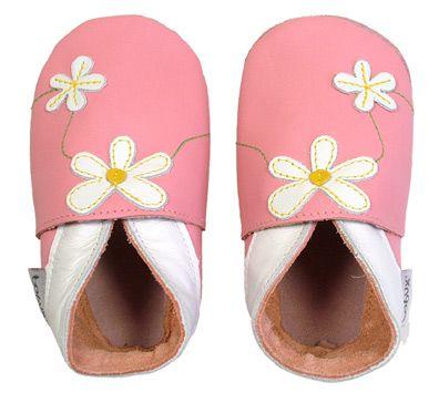 Bobux Pink Daisy | Natural Moms & Tots