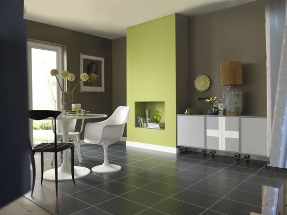 Wall Colour Inspiration: #Kitchen Inspiration
