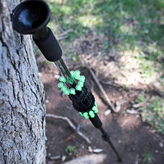 The Avenger Blowgun is a totally decked out hunting model with 4 kinds of darts, a sewn sling, and loaded with dart holder quivers.   The best survival weapons and armor at survivallife.com #survival #weapons #preppers