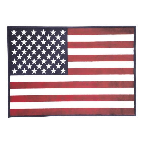 Tapis drapeau 120 x 170 cm USA
