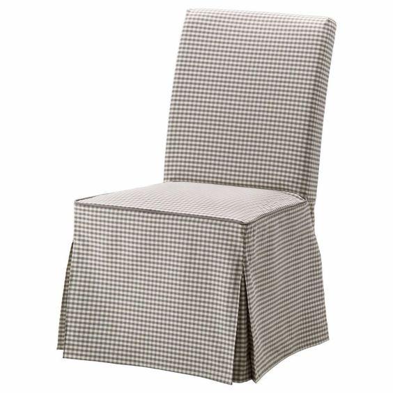 ikea henriksdal slipcover plaid long chair cove sagmyra. Black Bedroom Furniture Sets. Home Design Ideas