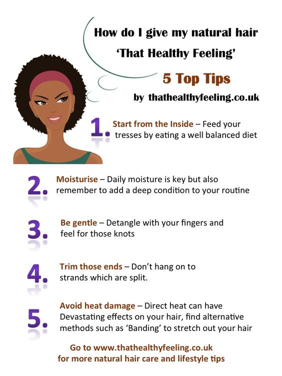Hair care tips, Natural hair care tips and Hair care on ...