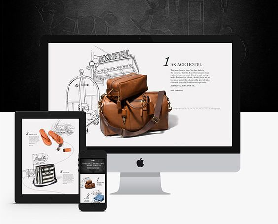Coach Gentlemen's List on Behance