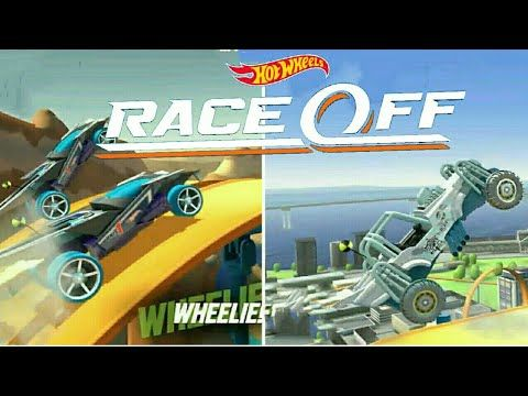 Hot Wheels Race Off Hill Climb Racing Game Android Gameplay
