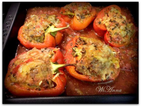 Hier wird mit Liebe gekocht: Gefüllte Paprika