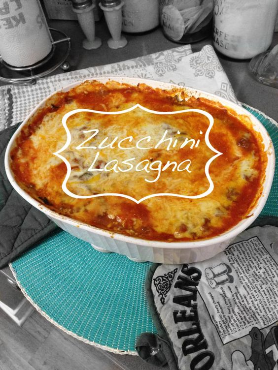 Just Like the Real Thing: Zucchini Lasagna | Carb Me Not