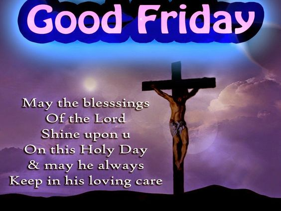 Beautiful Good Friday SMS, Text Messages and Good Friday Pics, wallpapers 2017