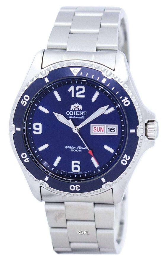 Đồng hồ Orient Blue Mako FEM65002DW