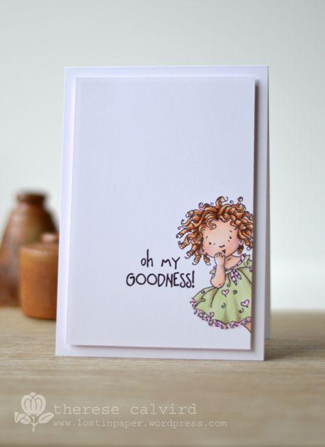 Lostinpaper - Penny Black -Goodness card (video)