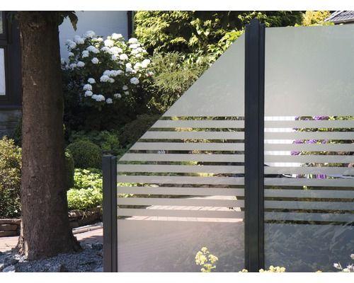 Zaunelement Belfort Streifen 90 X 180 Cm Sichtschutz Terrasse