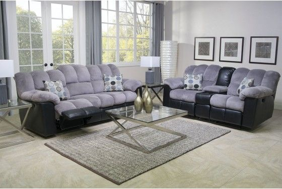 Fountain Living Room In Gray Media Image 1 With Images Living Room Sectional Gray Sectional Living Room Living Room Collections