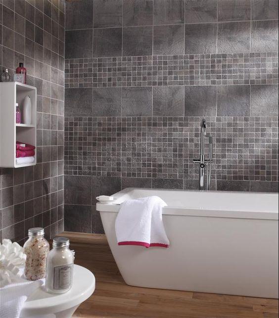 Pingl par leroy merlin sur salle de bains pinterest ps sombre et murs - Catalogue salle de bain leroy merlin ...