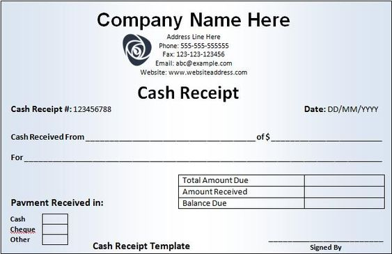 Best 25+ Receipt template ideas on Pinterest Invoice template - cheque received receipt format