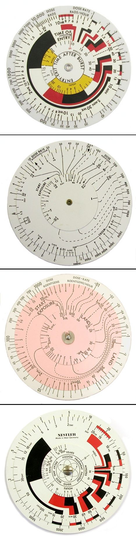 Nuclear Slide Rules #infographic