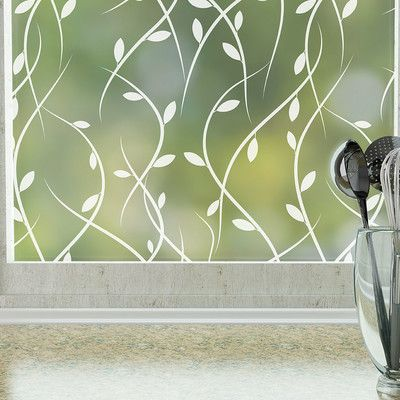 Features:  -Fully frosted privacy film.  -Non-adhesive material for easy removal.  -Material: PVC, glass.  -Eco-friendly.  -Made in the USA.  Product Type: -Window sticker and film.  Theme: -Shapes.