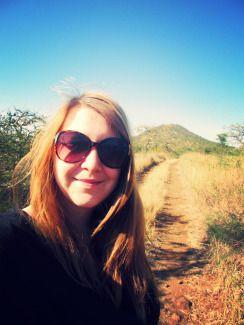 African Bush Selfie at Lake Chala campsite #lakechala #africa #tanzania #kenya #camping #travel