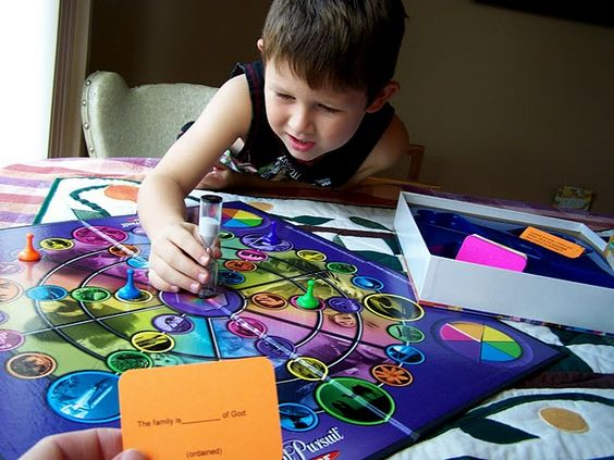 One of my favorite LDS blogs I follow...cute game cards download for a Family Proclamation FHE