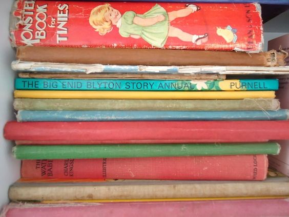 More vintage books..