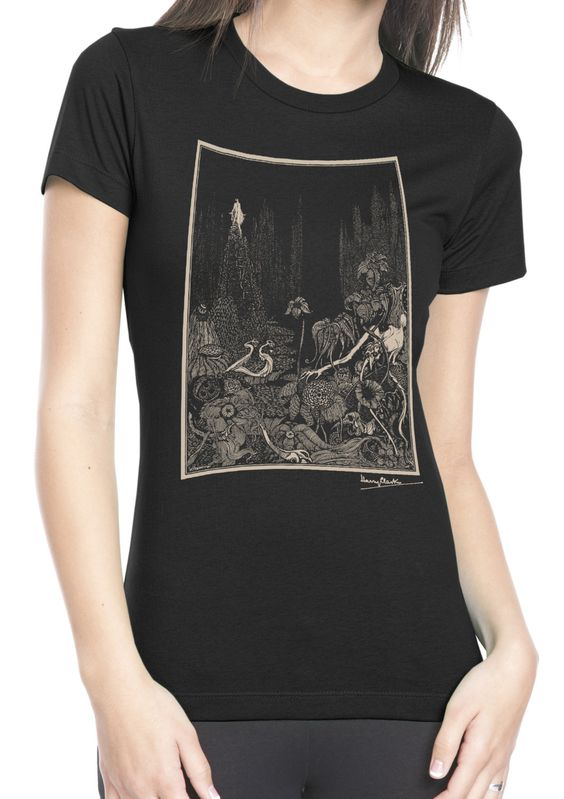 """Ladies' Harry Clarke """"The Silence"""" T Shirt by ClosetOfMysteries on Etsy"""