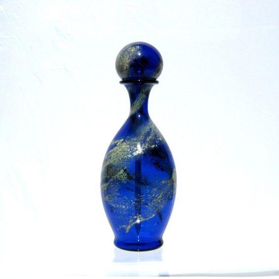 hand-blown glass