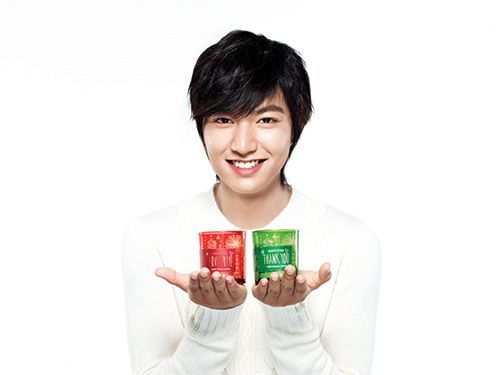 Lee Min Ho -Innisfree Christmas Campaign