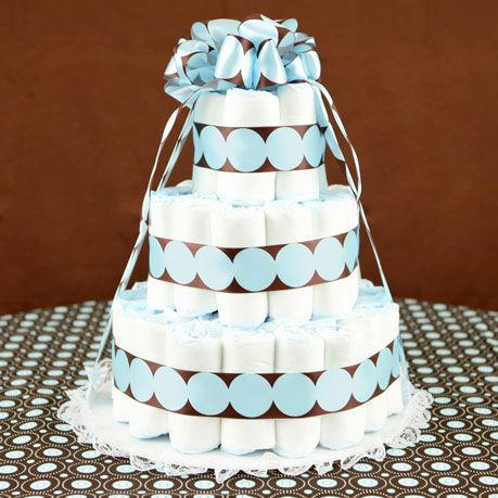Pastel de pañales.: Baby Shower Cakes, Babyshower Ideas, Baby Shower Diapers, Boy Diaper Cakes, Baby Gift, Shower Gift, Baby Showers