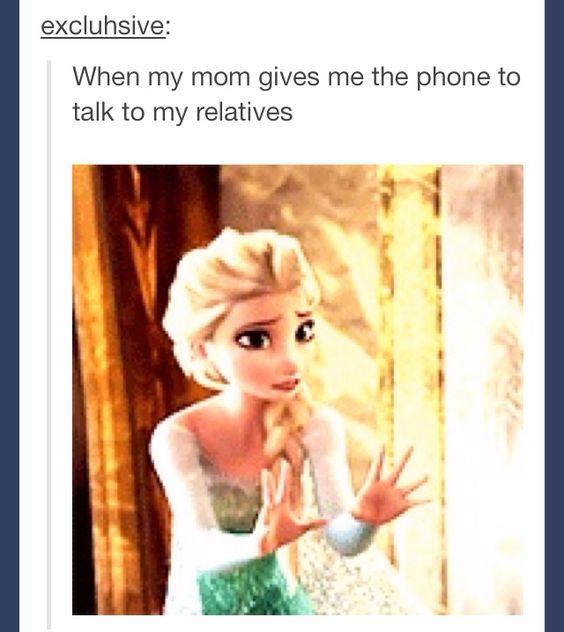 Lol haha funny pics / pictures / That Moment When / Frozen / Elsa / Family / Disney Humor Check more at http://hrenoten.com