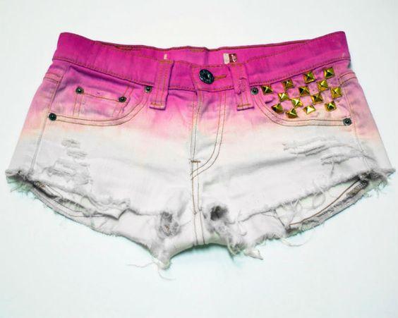 shorts de colores teñidos 2013 - Buscar con Google