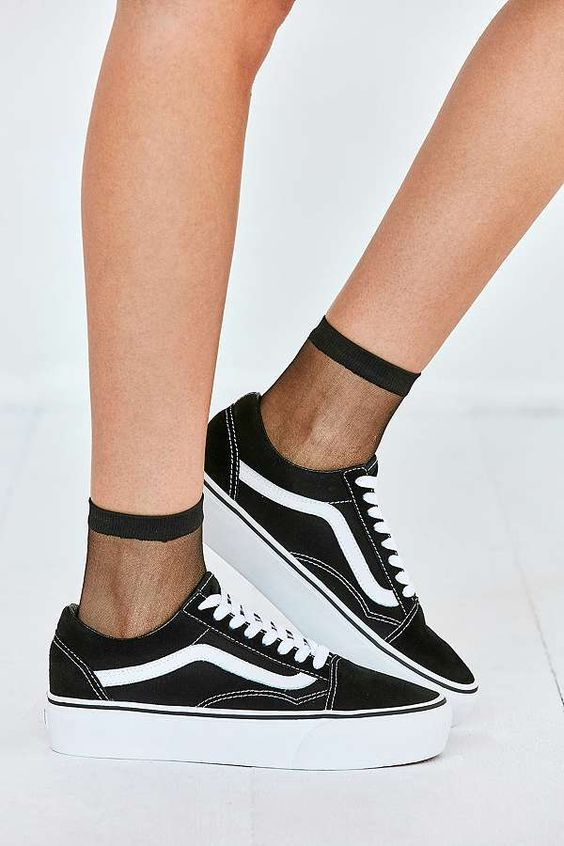 vans old school plateforme