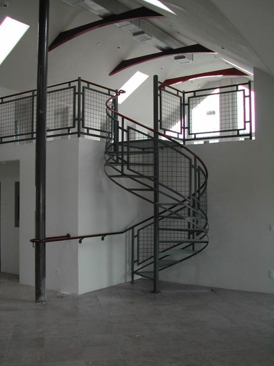 spiral staircases metal railings steel mesh spiral stair stair railing