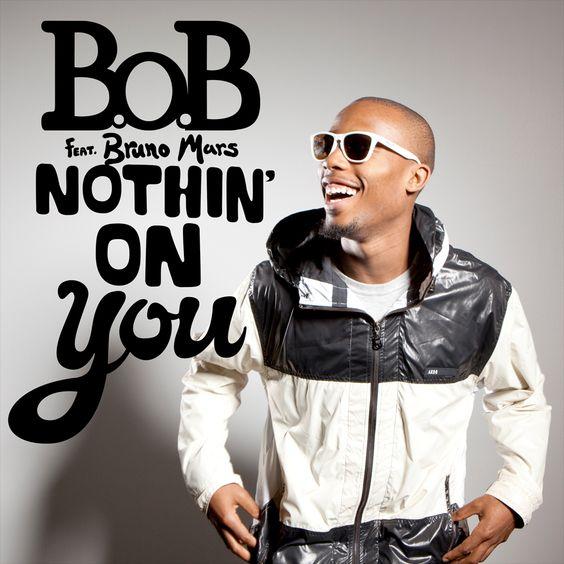 B.o.B, Bruno Mars – Nothin' on You (single cover art)