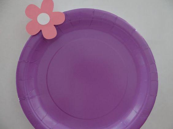 NEW ITEM Doc McStuffins Plates set of 10 by kandu001 on Etsy, $6.99