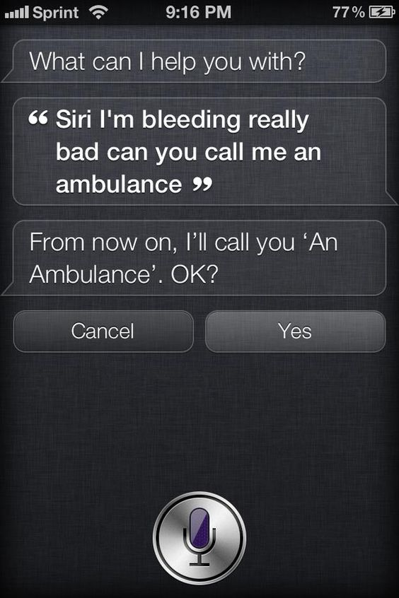 Why Siri can't be trusted in an emergency.