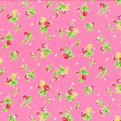 Lecien - Flower Sugar 2013 - Tossed Roses in Pink - 8.50